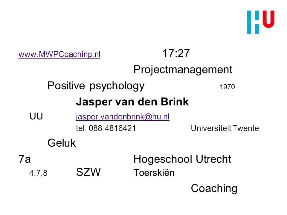 7a Hogeschool Utrecht 4,7,8 SZW Toerskiën Coaching