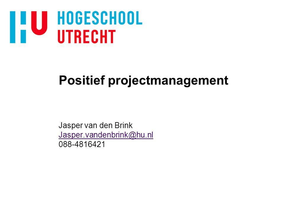 Positief projectmanagement