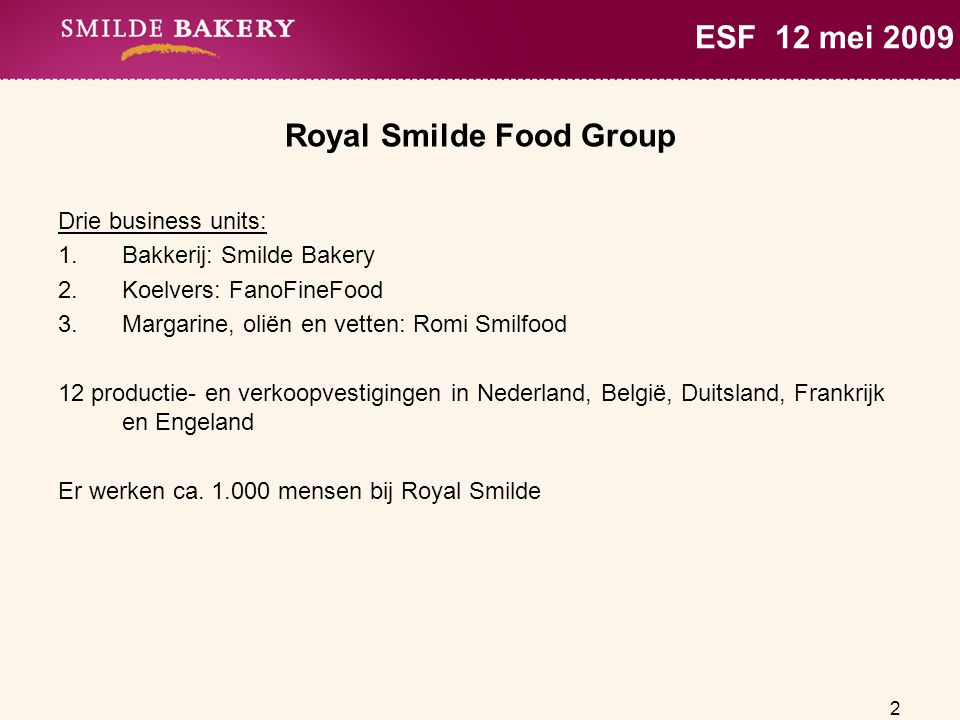 Royal Smilde Food Group