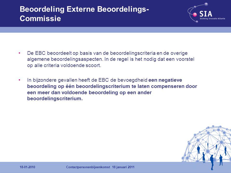 Beoordeling Externe Beoordelings-Commissie