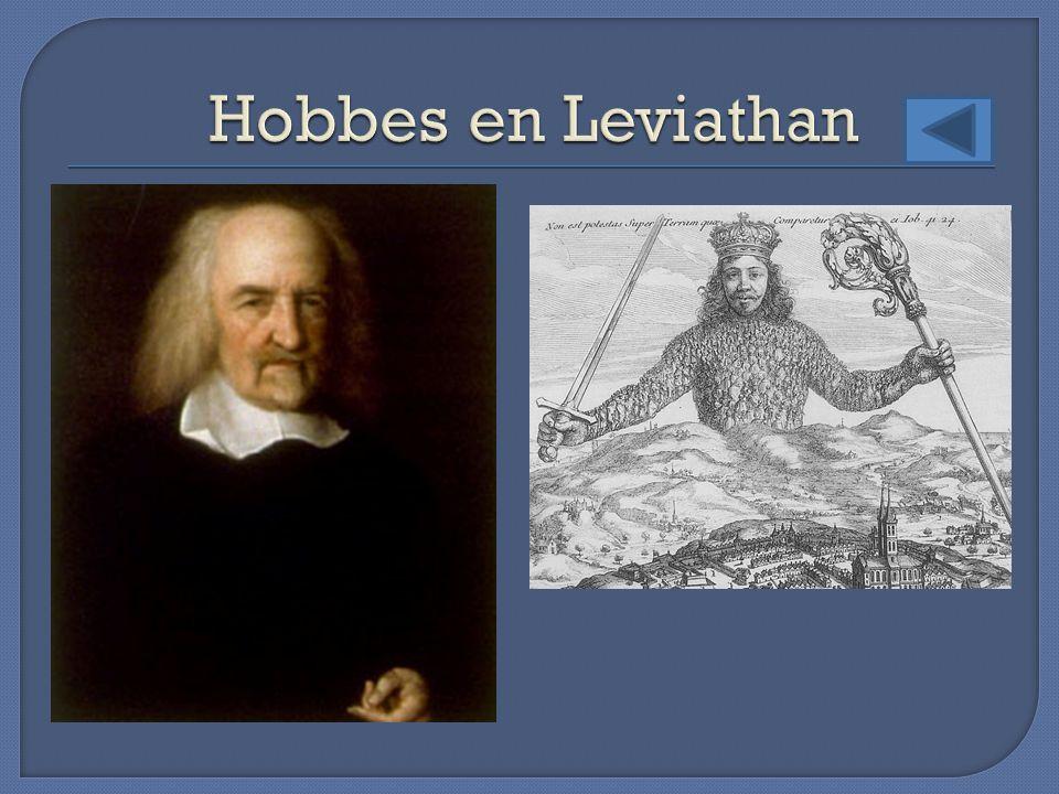 Hobbes en Leviathan