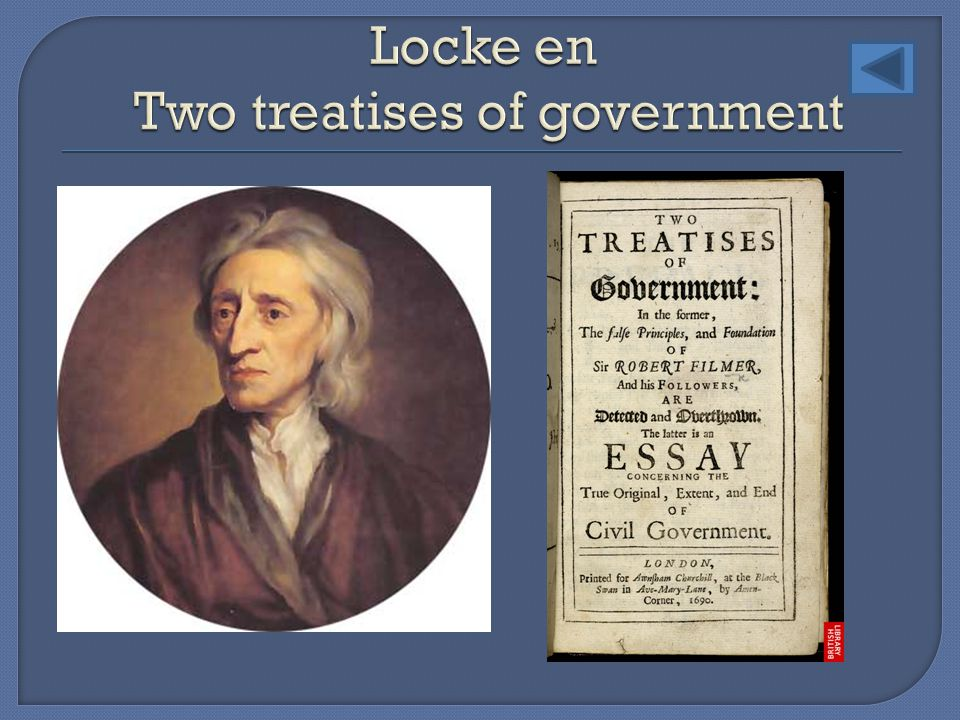 Locke en Two treatises of government