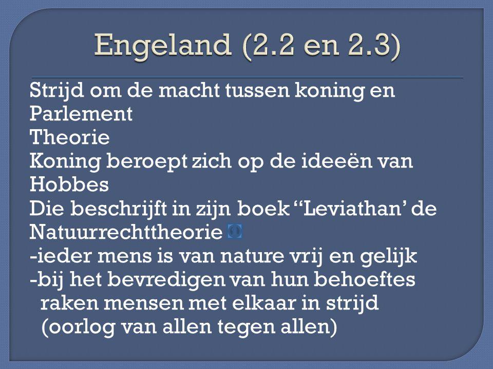 Engeland (2.2 en 2.3)
