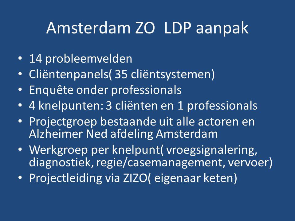 Amsterdam ZO LDP aanpak