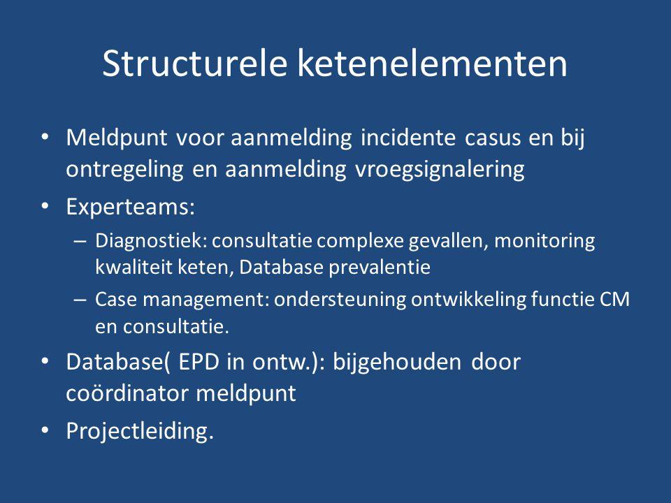 Structurele ketenelementen