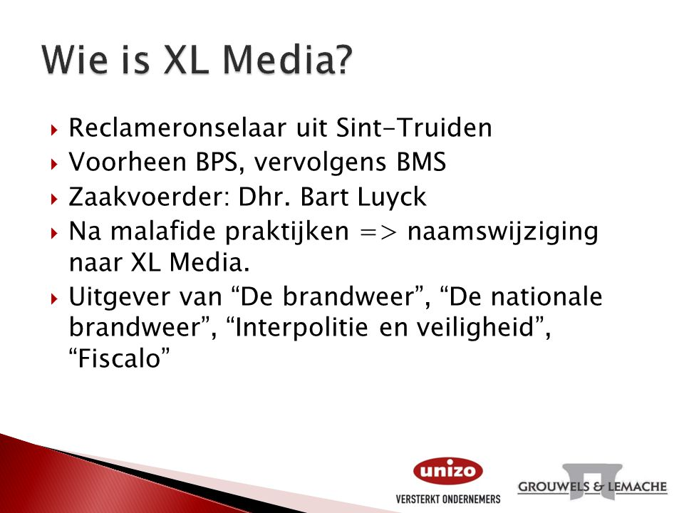 Wie is XL Media Reclameronselaar uit Sint-Truiden