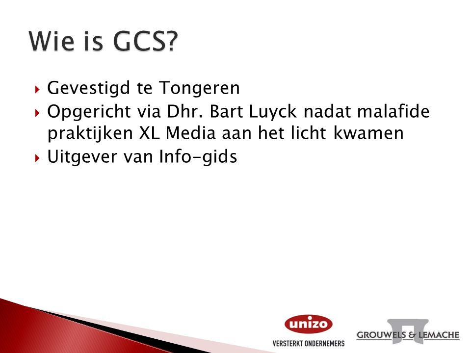 Wie is GCS Gevestigd te Tongeren
