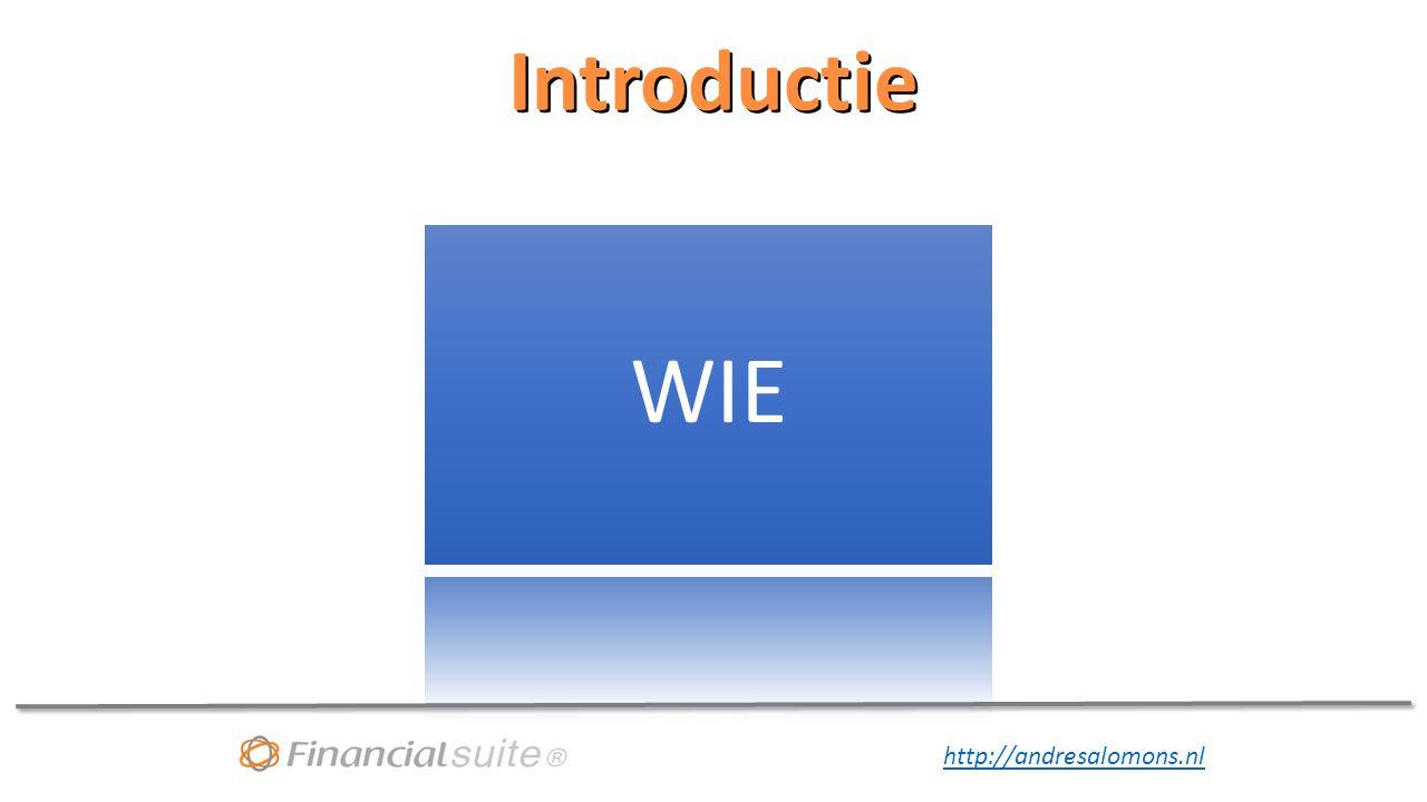 Introductie WIE