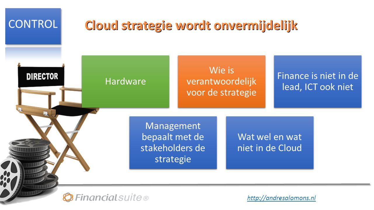 Cloud strategie wordt onvermijdelijk