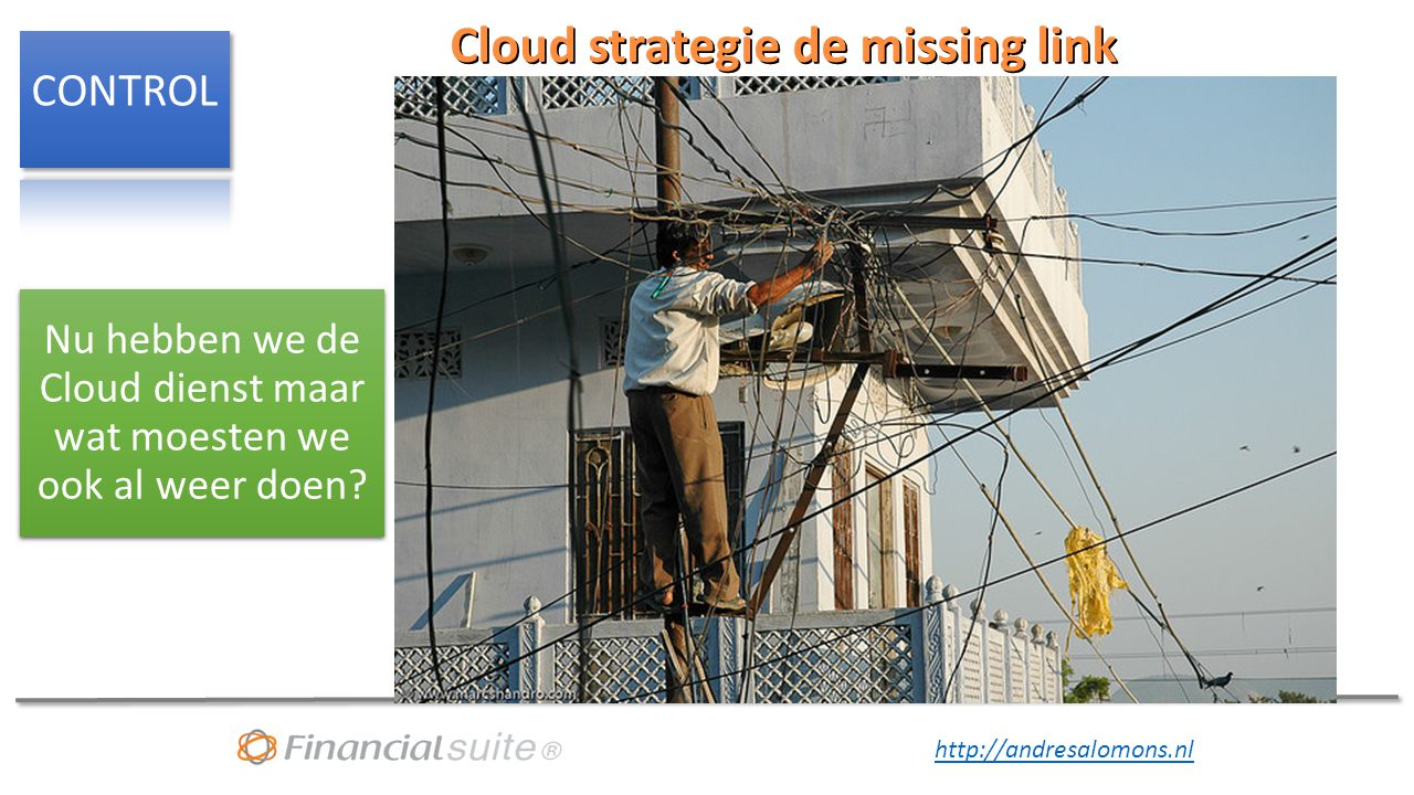 Cloud strategie de missing link