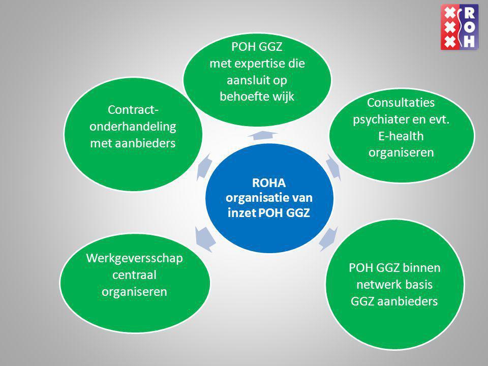 ROHA organisatie van inzet POH GGZ