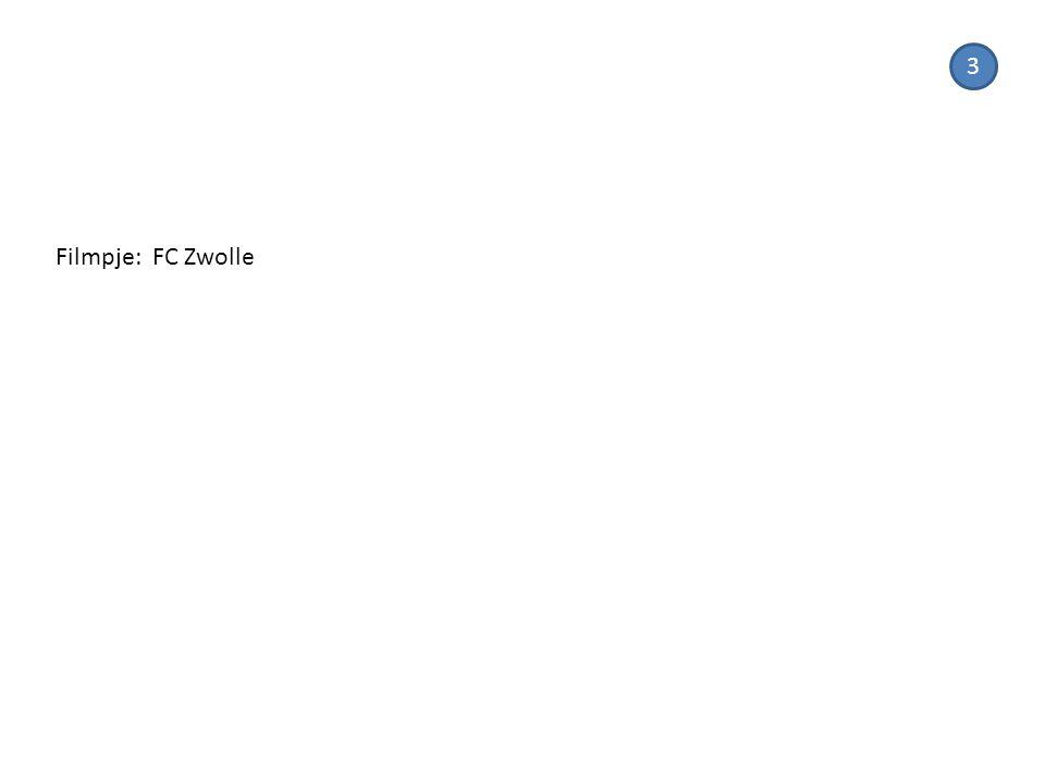 3 Filmpje: FC Zwolle