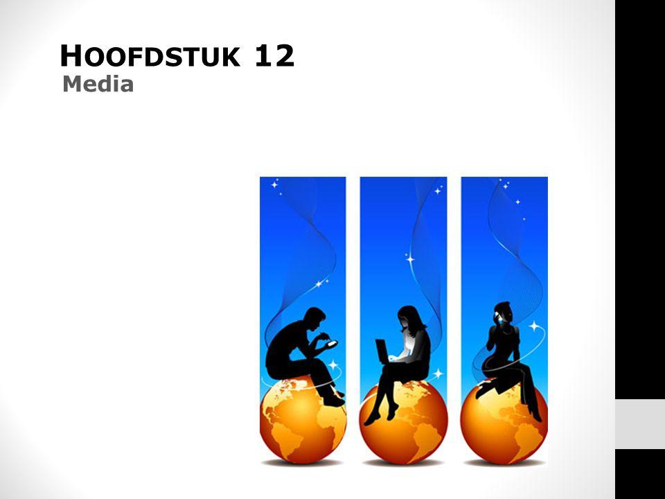 HOOFDSTUK 12 Media