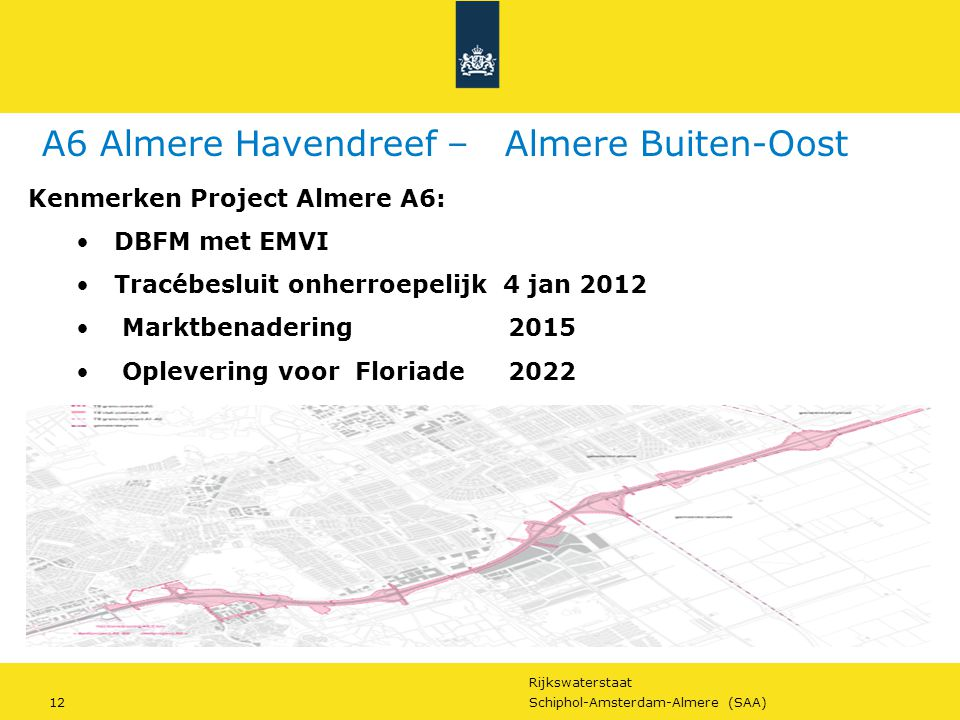 A6 Almere Havendreef – Almere Buiten-Oost