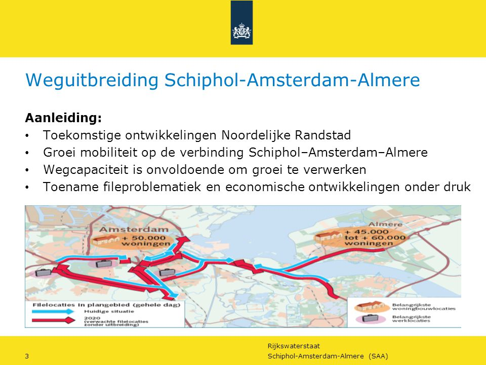 Weguitbreiding Schiphol-Amsterdam-Almere