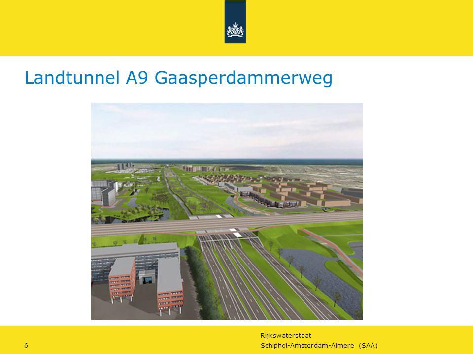 Landtunnel A9 Gaasperdammerweg