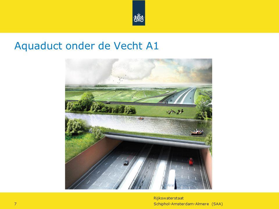 Aquaduct onder de Vecht A1