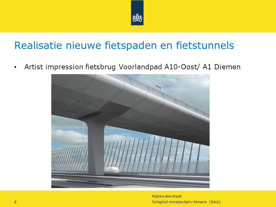 Realisatie nieuwe fietspaden en fietstunnels