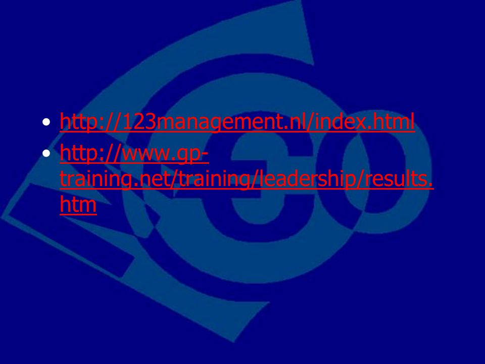http://123management.nl/index.html http://www.gp-training.net/training/leadership/results.htm