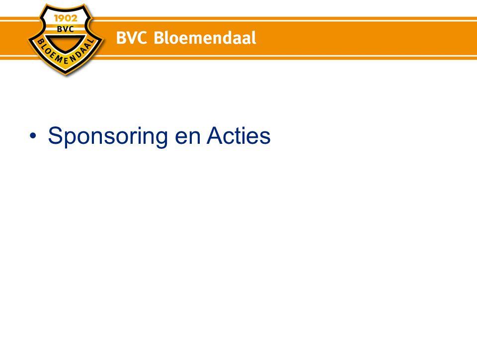 Werkgroep sponsoring en Acties