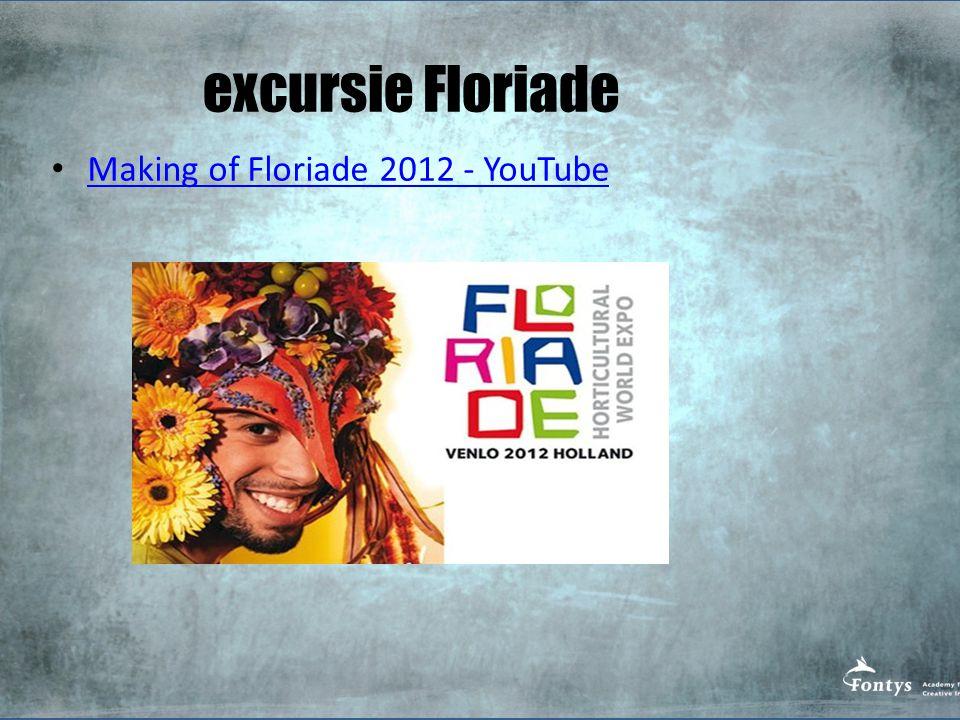excursie Floriade Making of Floriade 2012 - YouTube