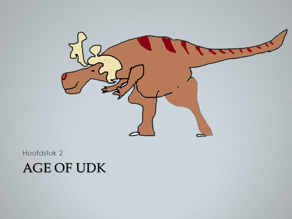 Hoofdstuk 2 Dan ga ik het nu hebben over programmeren binnen UDK Age of udk