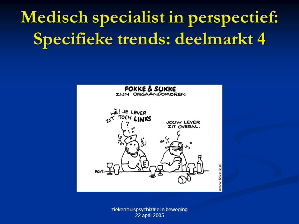 Medisch specialist in perspectief: Specifieke trends: deelmarkt 4