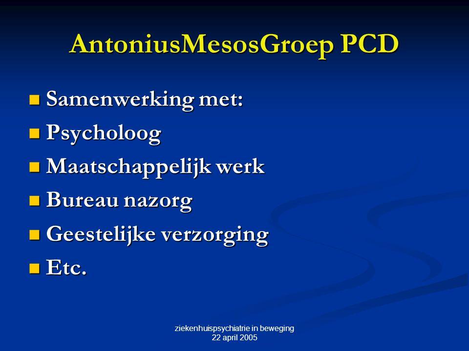 AntoniusMesosGroep PCD