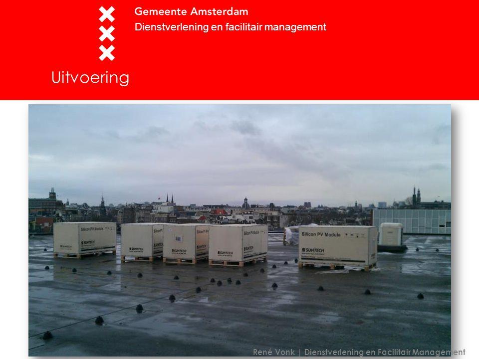 Uitvoering Dienstverlening en facilitair management