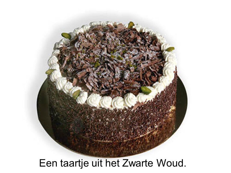 Een taartje uit het Zwarte Woud.