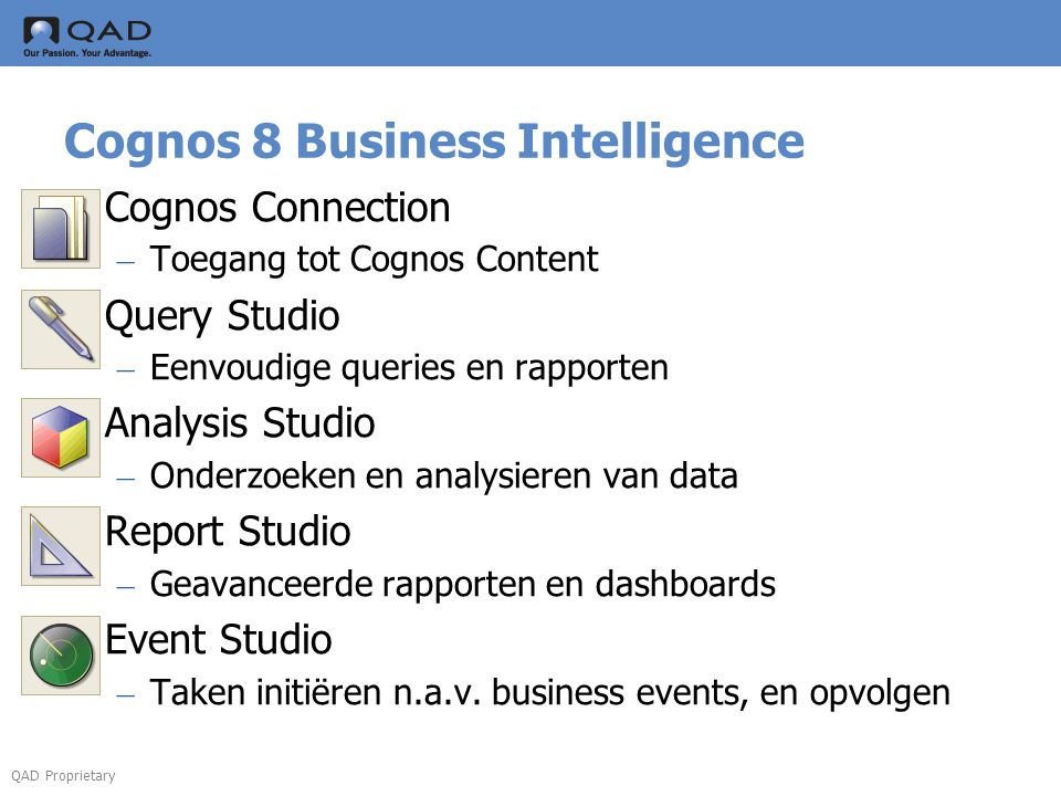 Cognos 8 Business Intelligence