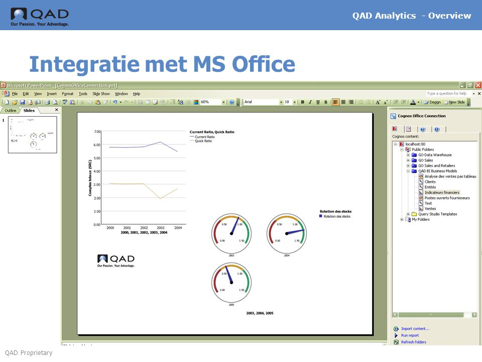 Integratie met MS Office