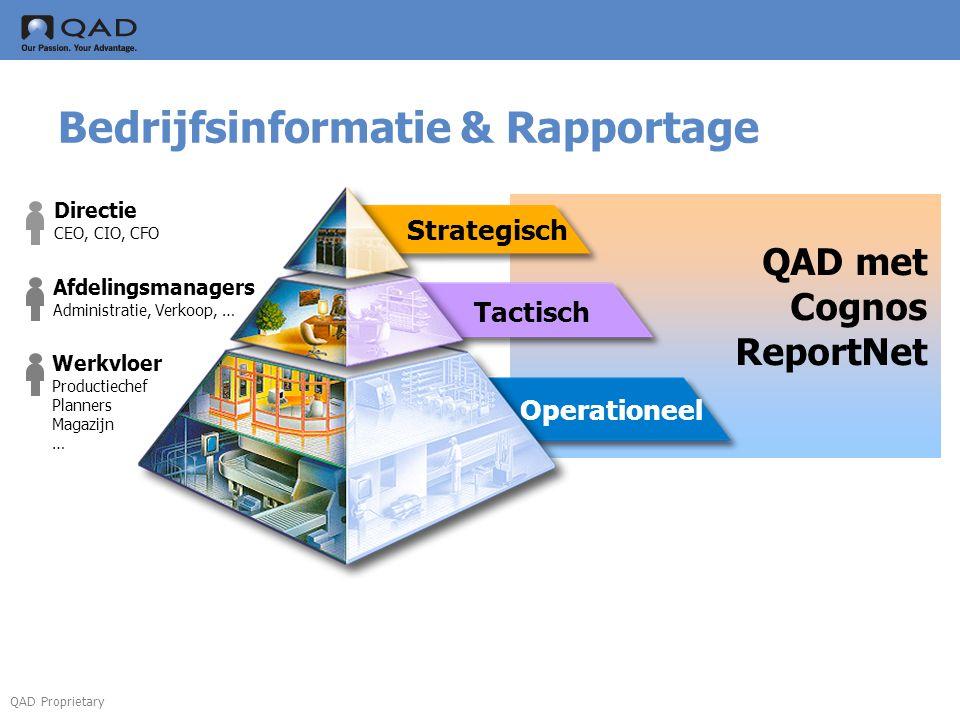 Bedrijfsinformatie & Rapportage