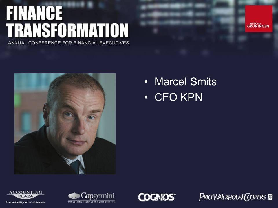 Marcel Smits CFO KPN