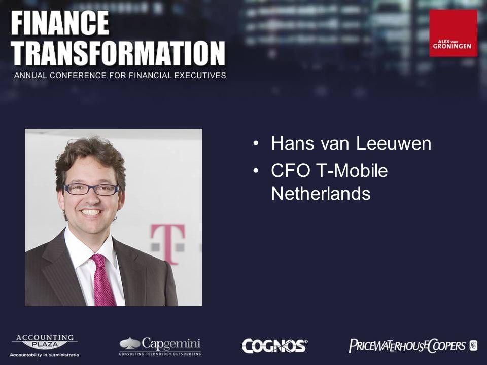 Hans van Leeuwen CFO T-Mobile Netherlands