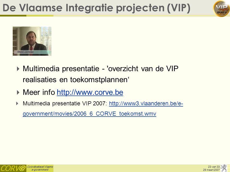 De Vlaamse Integratie projecten (VIP)