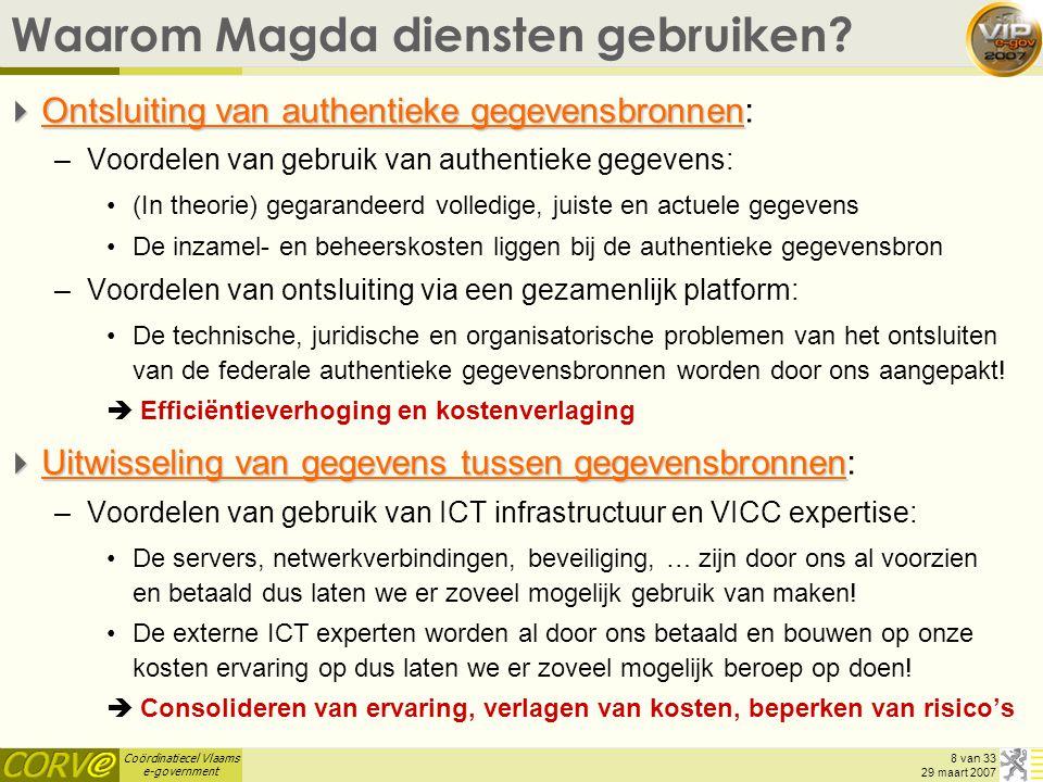 Waarom Magda diensten gebruiken