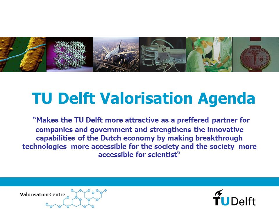 TU Delft Valorisation Agenda