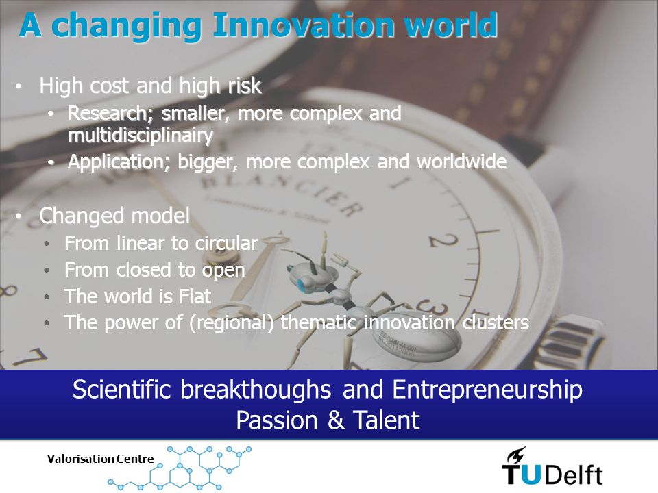 A changing Innovation world