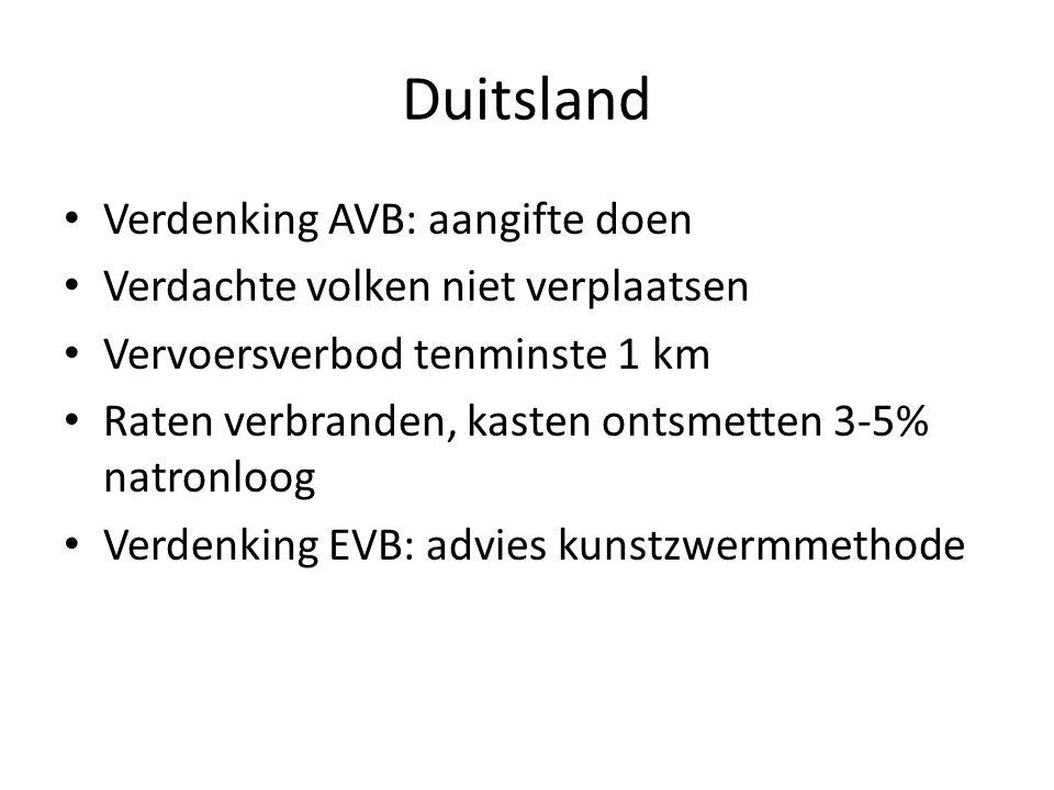 Duitsland Verdenking AVB: aangifte doen