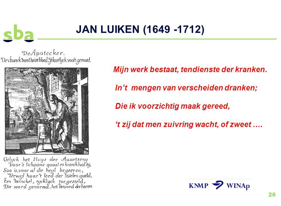 JAN LUIKEN (1649 -1712)