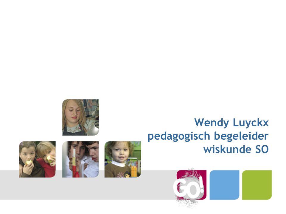 Wendy Luyckx pedagogisch begeleider wiskunde SO