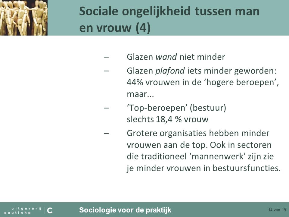 Sociale ongelijkheid tussen man en vrouw (4)