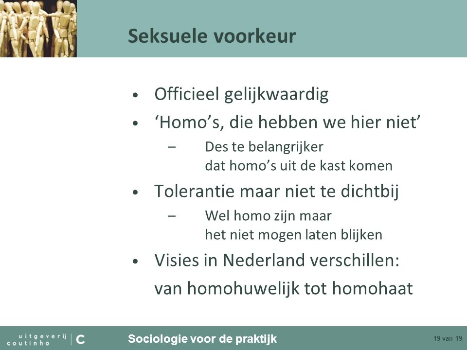 Seksuele voorkeur Officieel gelijkwaardig