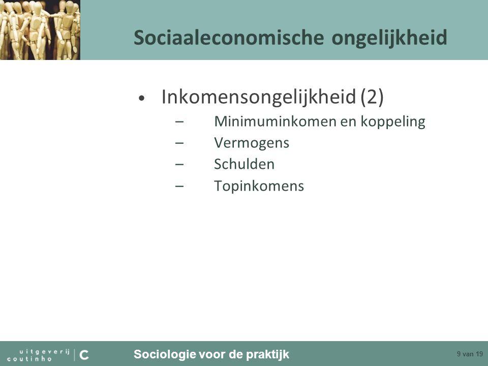 Sociaaleconomische ongelijkheid