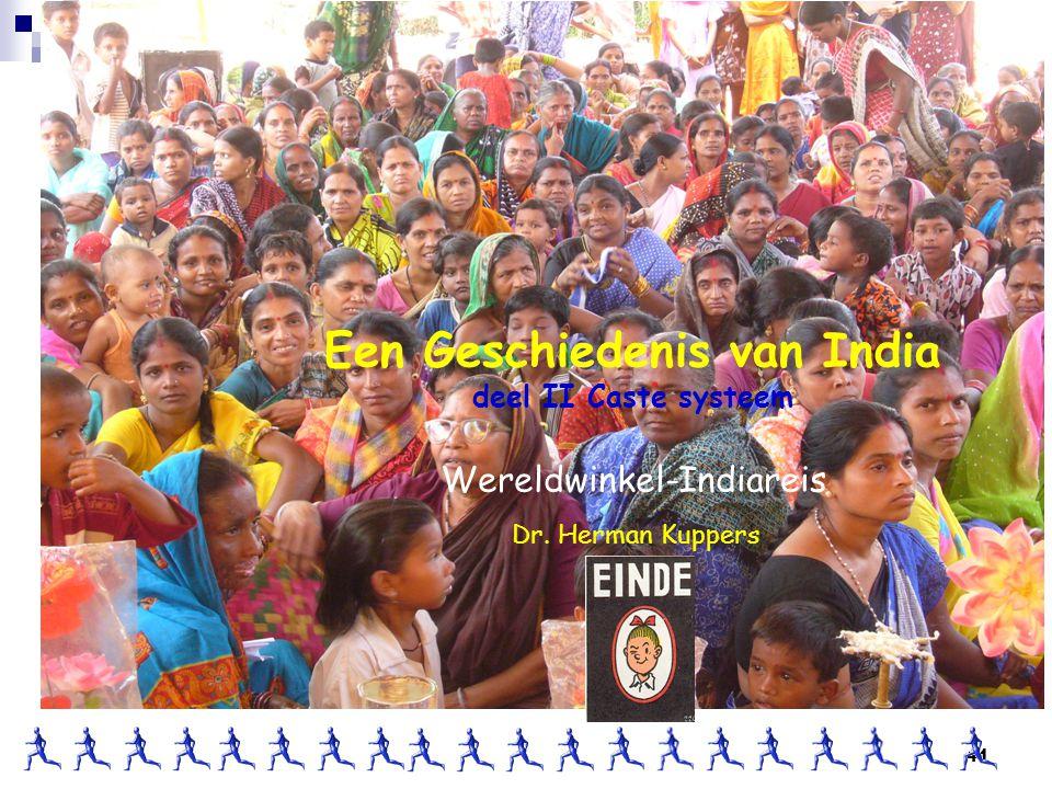 Een Geschiedenis van India deel II Caste systeem