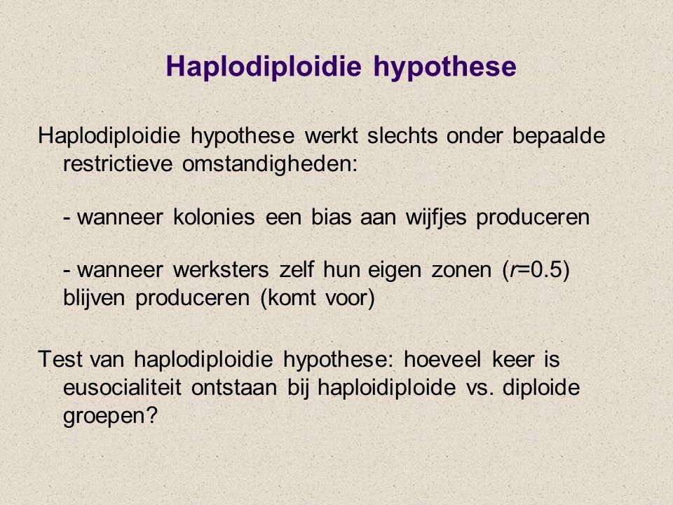 Haplodiploidie hypothese