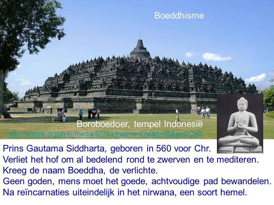 Boroboedoer, tempel Indonesië