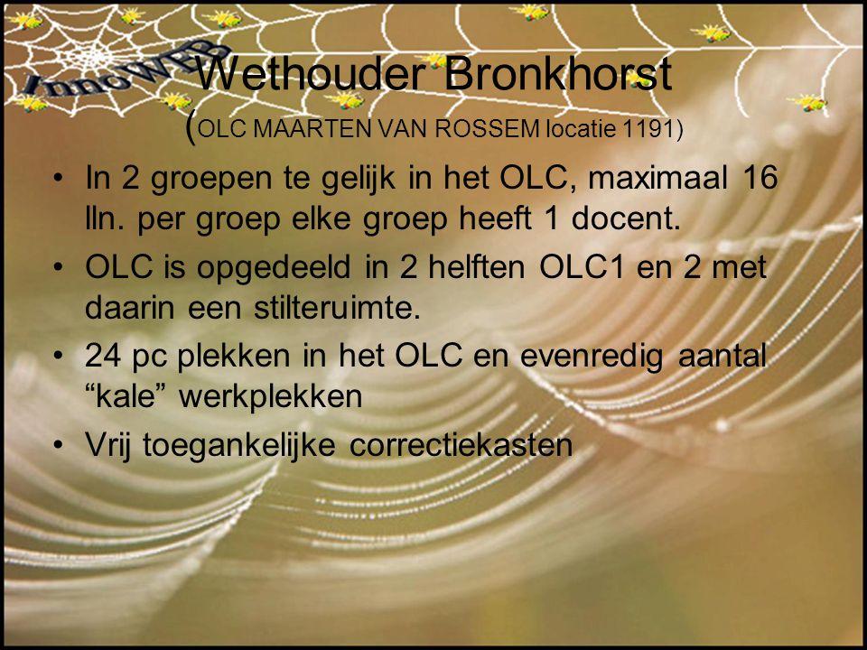Wethouder Bronkhorst (OLC MAARTEN VAN ROSSEM locatie 1191)