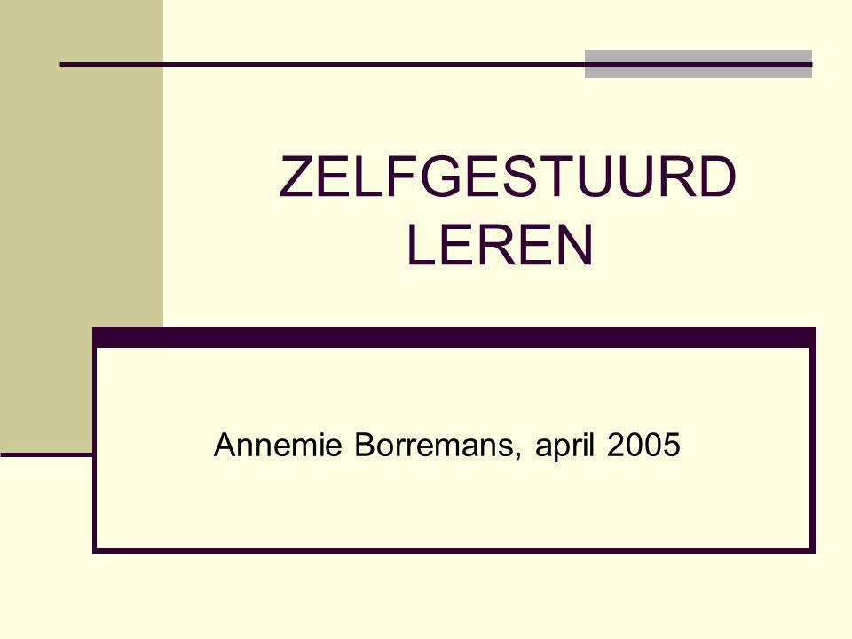 Annemie Borremans, april 2005